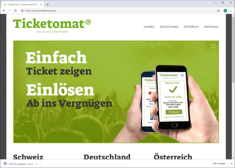 Ticketomat® Das smarte Ticket Portal